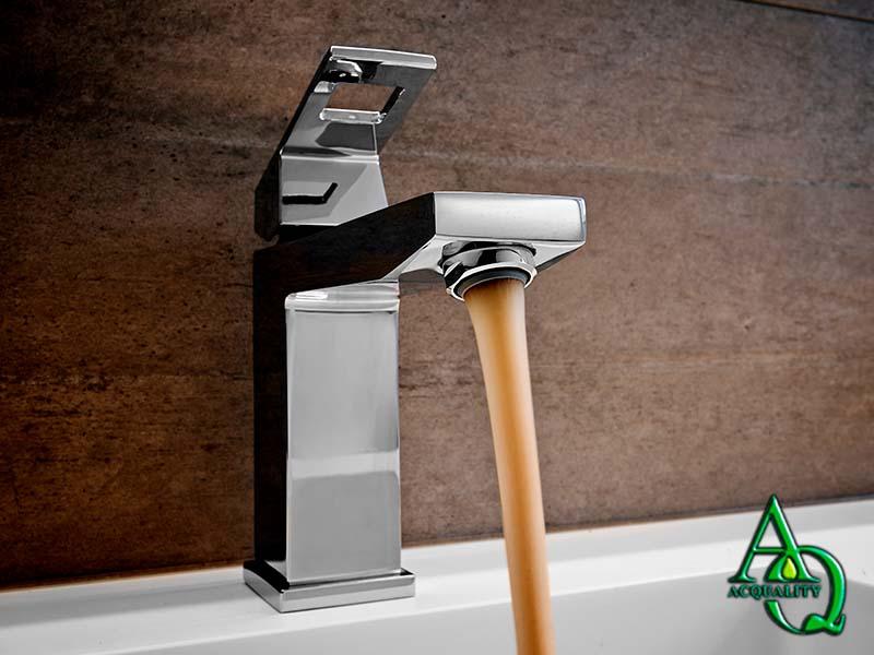 Remover ferrugem da água