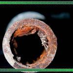 Tratamento de tubos de água