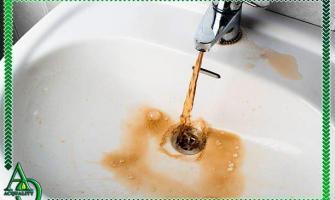 Como tirar ferrugem da água