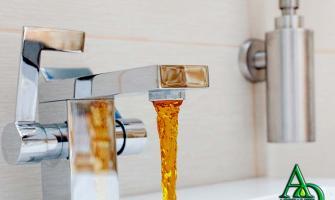 Empresa de remoção de ferrugem da água