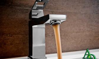 Valor de tratamento água amarelada